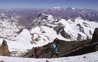 Aufstieg zum Aconcagua, 6993 m