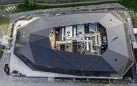 Flugansicht Umwelt Arena
