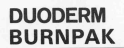 DUODERM BURNPAK Logo