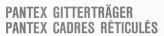 PANTEX GITTERTRäGER PANTEX CADRES RéTICULéS Logo