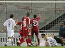 Basels Zdravko Kuzmanovic erzielt das 1:1.