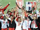 Sion im Cup-Jubel.