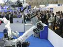 Mehr oder weniger humanoide Roboter.