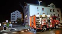 Beim Brand wurde die Wohnung komplett zerstört.