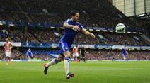 Dank Fabregas, siegte Chelsea.