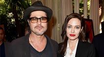 Brad Pitt und Angelina Jolie.