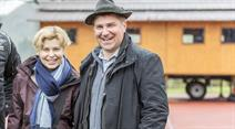 Kandidatin Friedli, Partner Brunner (Archivbild): Kandidatinnenwerbung ohne Kandidatin.