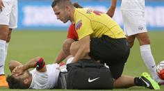 Davide Chiumiento (FCZ) verletzte sich im Europa-League-Hinspiel gegen Dinamo Minsk.