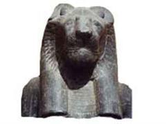 Sekhmet ist die ägyptische Kriegsgöttin.