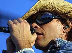 Liess sich nicht beirren: Bon Jovi.
