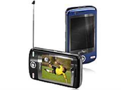 Smartphone mit Antenne: Glofiish V900.