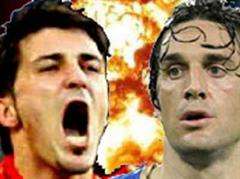 David Villa oder Luca Toni: Wer kann heute durchstarten?