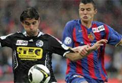 Luzerns Gerardo Seoane gegen Basels Orhan Mustafi.