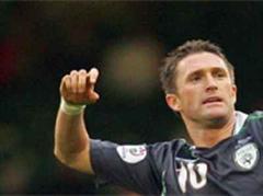Robbie Keane jubelt. (Archivbild)