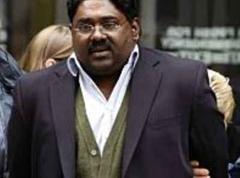 Der beschuldigte Milliardär Raj Rajaratnam.