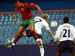 Portugal bezwang England 3:1.