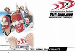 Screenshot der Euro 2008-Site.