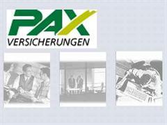 PAX Versicherung.