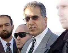 Der US-Botschafter im Irak, Zalmay Khalilzad.