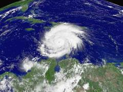 Der Hurrikan Ivan.