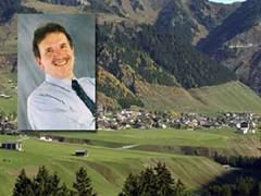 Der Bündner Erziehungsminister Claudio Lardi in Chur.