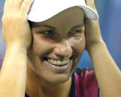 Swetlana Kusnezowa holte den entscheidenden dritten Punkt. (Archivbild)
