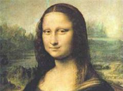 Leonardo da Vincis Mona Lisa ist hinter Panzerglas gesichert.