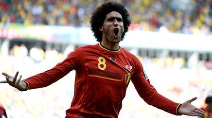 Marouane Fellaini schoss für Belgien in Jerusalem das Siegtor. (Archivbild)