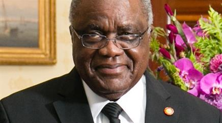Hifikepunye Pohamba wird demnächst als Präsident abtreten.