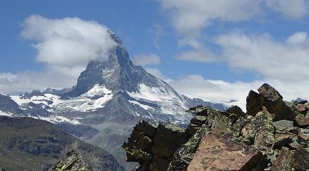 Wegen dem Felssturz auf rund 3000 Meter wurde die Südseite geschlossen.