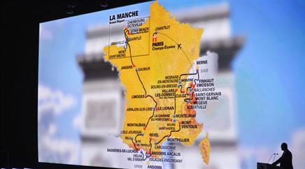 Der «Fahrplan» der diesjährigen Tour de France.