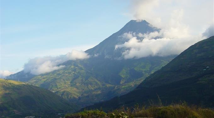 Vulkan Tungurahua, Equador