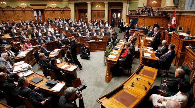 Im Nationalrat sitzen 29 Prozent Frauen.
