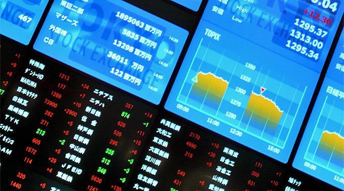 Roter Tag an der japanischen Börse.
