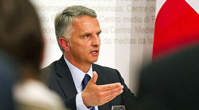 Gesundheitsminister Didier Burkhalter.
