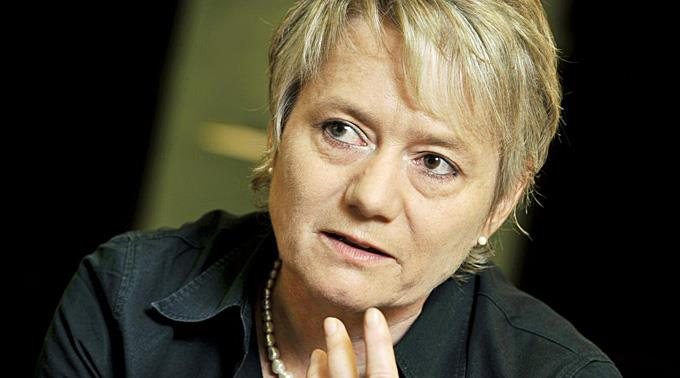 SP-Vizepräsidentin Jacqueline Fehr.
