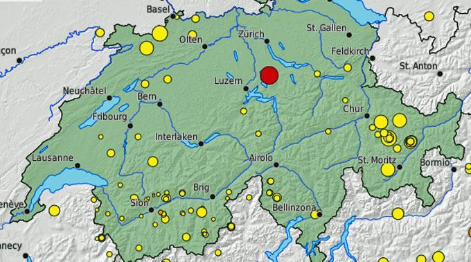 news.ch - Erbeben erschüttert die Schweiz - Erdbeben ...