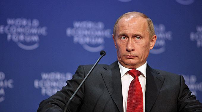 Grossdemonstration gegen Staatschef Wladimir Putin.