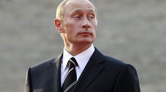 Proteste gegen Präsident Wladimir Putin.