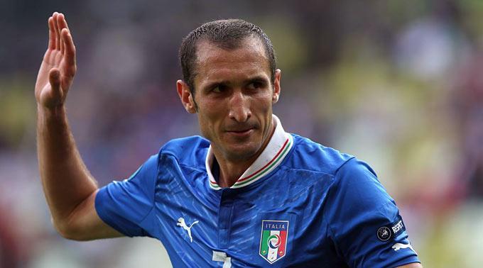 Giorgio Chiellini ist erneut verletzt.