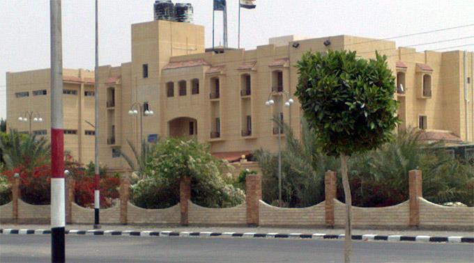 Polizeiposten auf der Halbinsel Sinai. (Symbolbild)