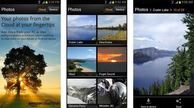 Amazon Cloud Drive Photos.