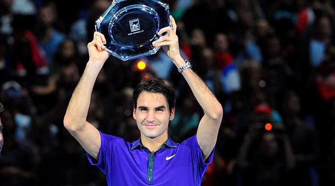 Roger Federer lieferte am gestrigen Abend eine Duell auf Augenhöhe.