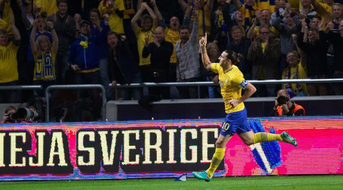 One-Man-Show von Zlatan Ibrahimovic.