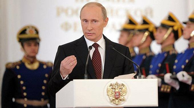 Wladimir Putin, Präsident Russland
