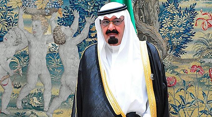König Abdullah von Saudi Arabien.
