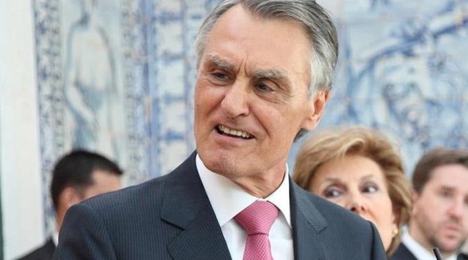 Portugals Präsident Aníbal Cavaco Silva.