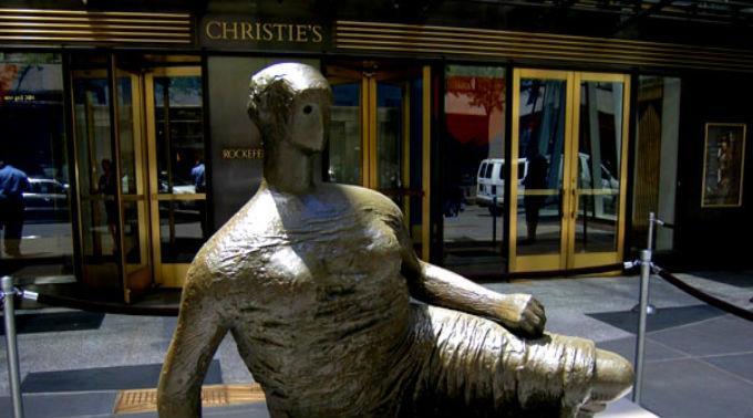 Das berühmte Auktionshaus Christie's in London.