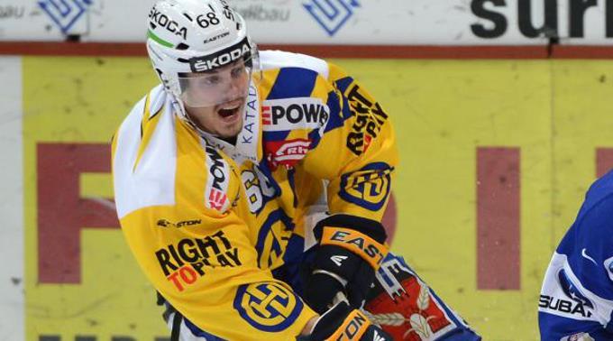 Sven Ryser in Aktion.