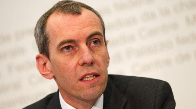 Patrick Raaflaub, Direktor der FINMA.